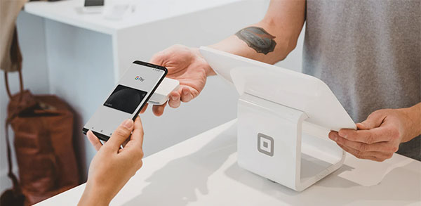 NFC near field communication tap to pay phone