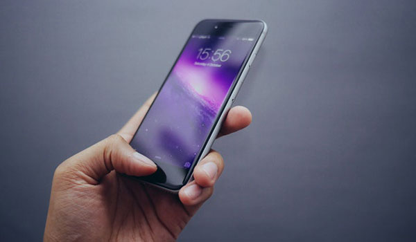 phone unlocking by fingerprint or face recognition