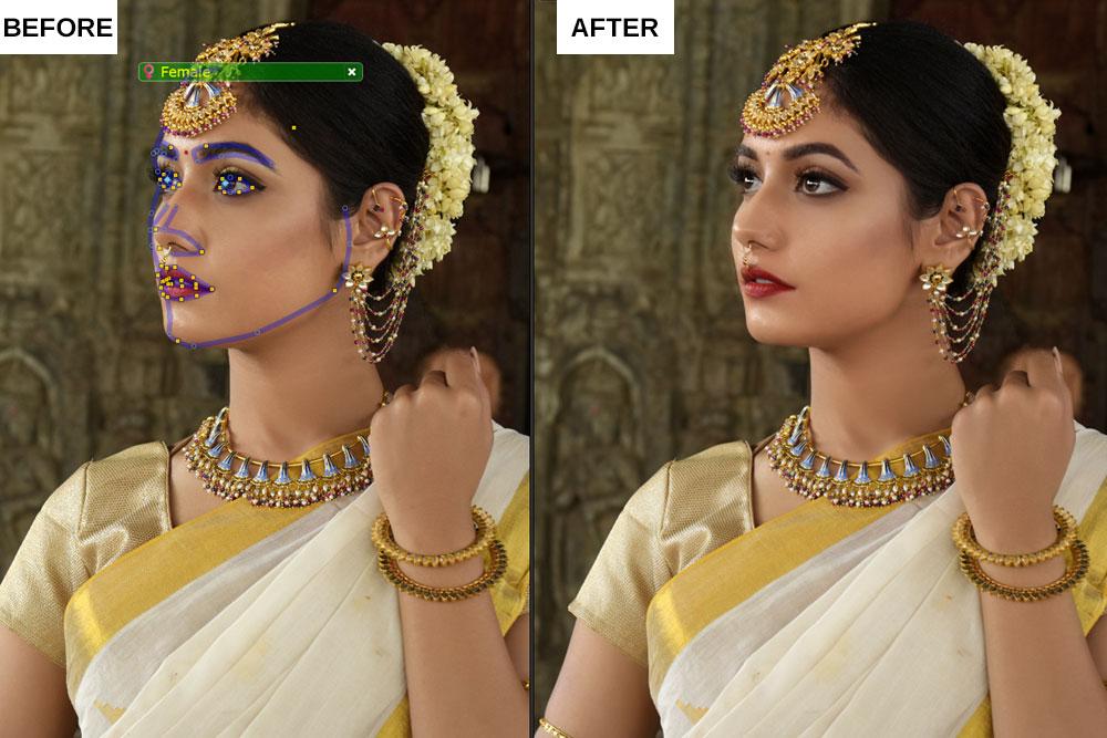 Portrait Pro 19 review Standard Enhancement Partial Side Profile