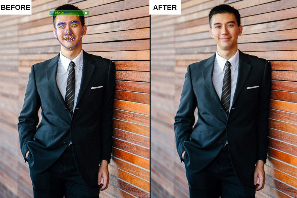 Portrait Pro 19 review Standard Enhancement Body Shot