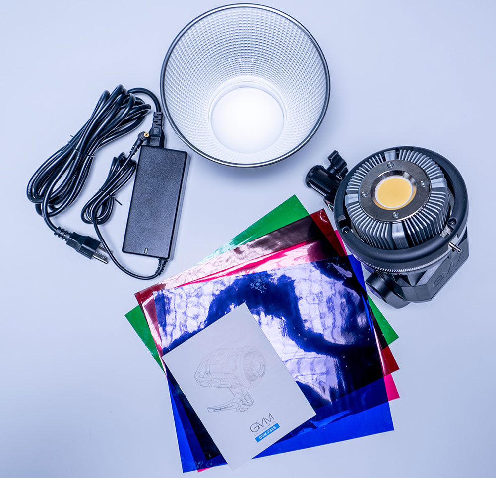 GVM 80W Video & Photo Light Package Contents